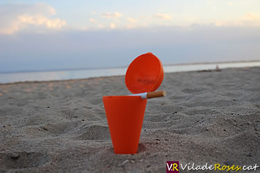 Cendrers per anar a la platja