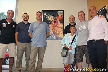 Exposició del Club Badia Roses a l'Oficina de Turisme de Roses