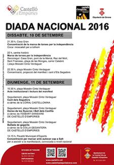 Diada Nacional a Castelló d'Empúries