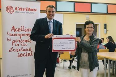 Espai Gironès amb Càritas Diocesana de Girona