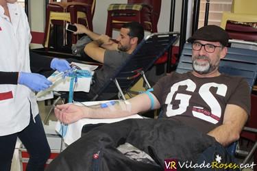 Primera Donació de Sang a Roses