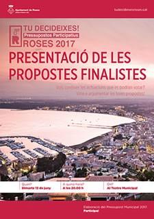Pressupostos Participatius de l'Ajuntament de Roses