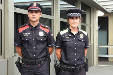 Nou uniforme Policia