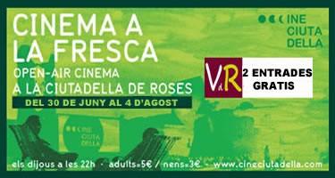 Viladeroses.cat regala 2 entrades per al Cine Ciutadella