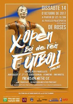 X Open Bai de Feis de Futbolí