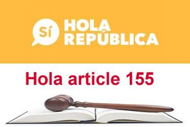 Independència de Catalunya i article 155