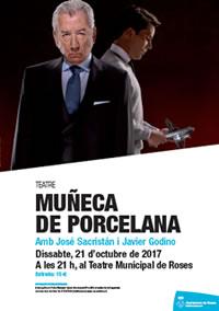 """""""Muñeca de Porcelana"""" al Teatre Municipal de Roses amb José Sacristán"""