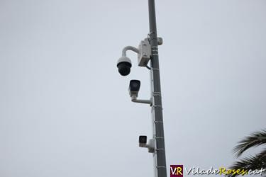 Càmeres de vigilància a Roses