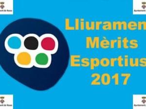 Mèrits Esportius 2017