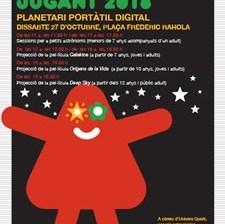 Planetari Portàtil Digital a Roses