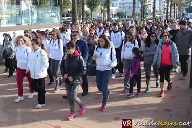 2ª Caminada contra la Violència de Gènere a Roses