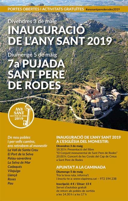 VII pujada al monestir de Sant Pere de Rodes
