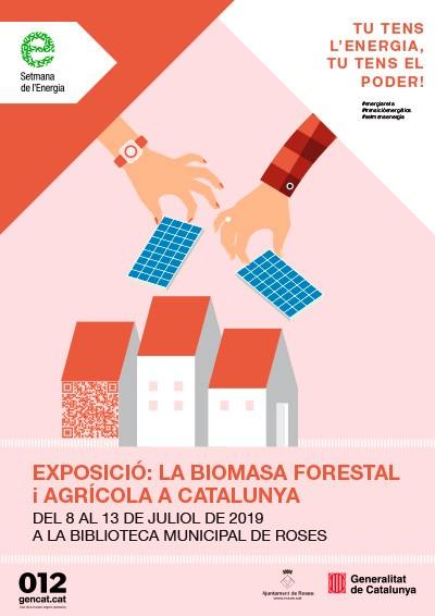 La biomassa forestal i agrícola a la Biblioteca de Roses