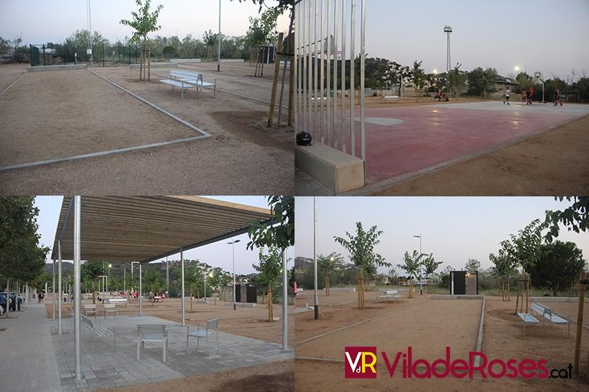 Zona esportiva de La Vinyassa de Roses