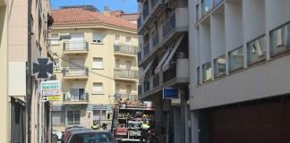 Conat d'incendi a l'Hotel Marina de Roses