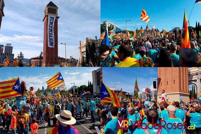 Manifestació Diada 2019