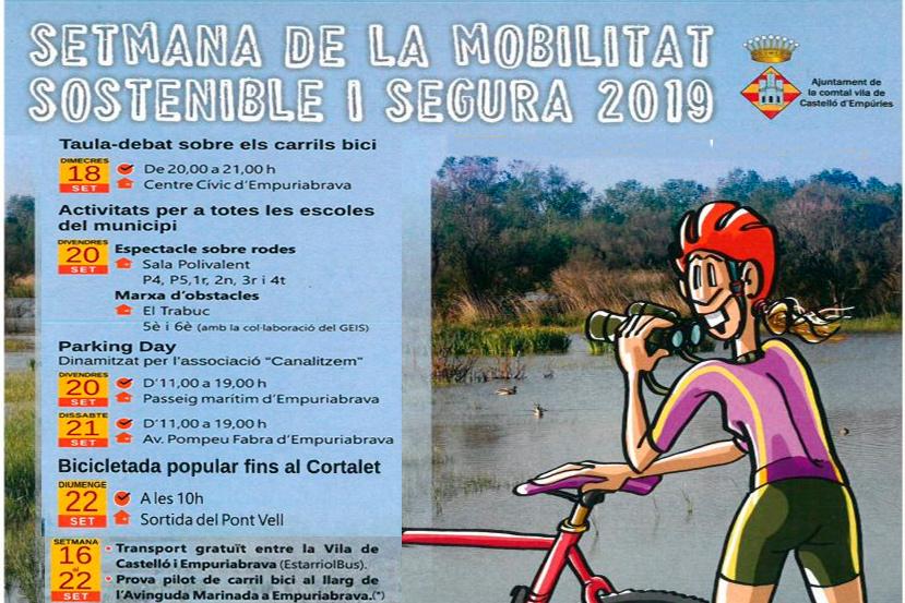 Setmana de la Mobilitat Sostenible a Castelló d'Empúries