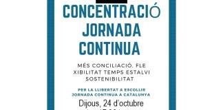 Plataforma Volem Jornada Contínua a Catalunya