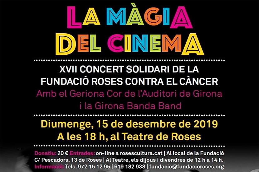 XVII Concert Solidari de la Fundació Roses Contra el Càncer