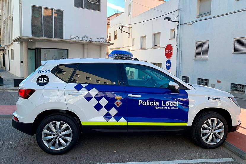La Policia Local de Roses estrena cotxe