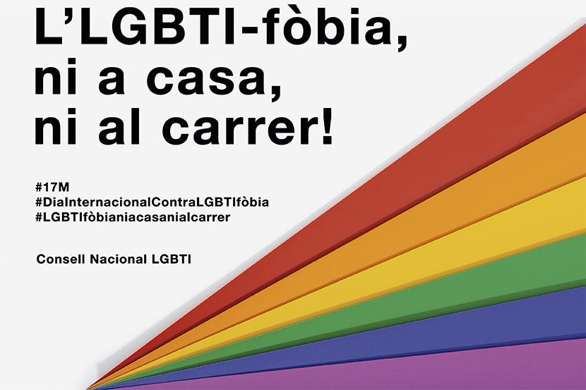 Dia Internacional contra l'homofòbia: la lesbofòbia, la gaifòbia, la bifòbia i la transfòbia