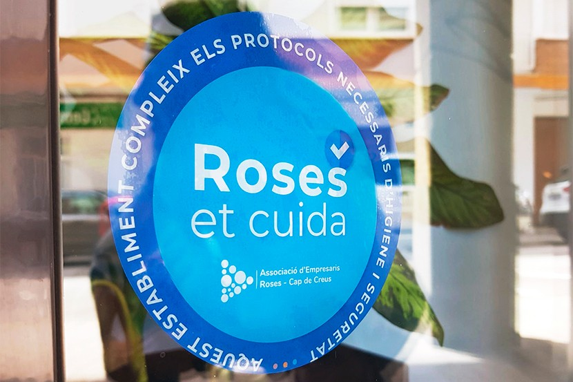 """Distintiu """"Roses et cuida"""""""