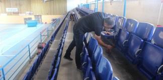 Nous seients plegables al Pavelló Municipal d'Esports de Roses