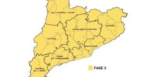 Catalunya en la Fase 3 de la desescaladat Catalunya passi a la fase 3