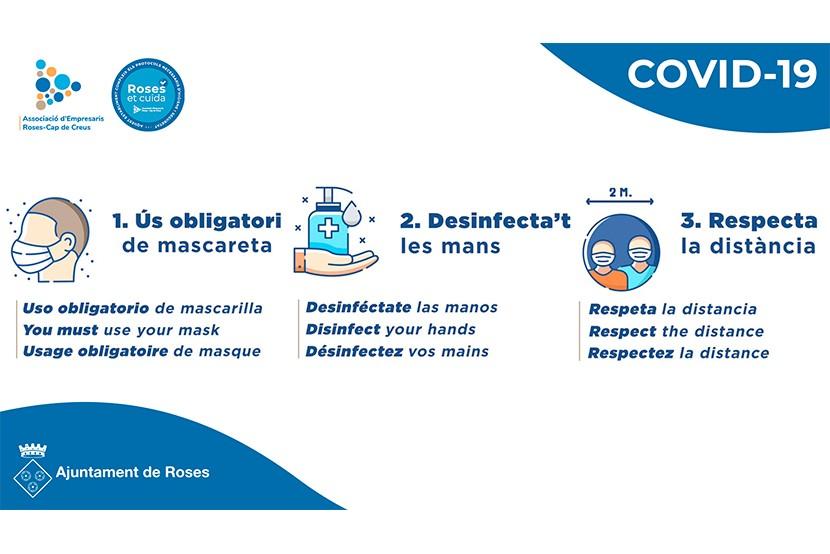 Campanya de conscienciació COVID-19