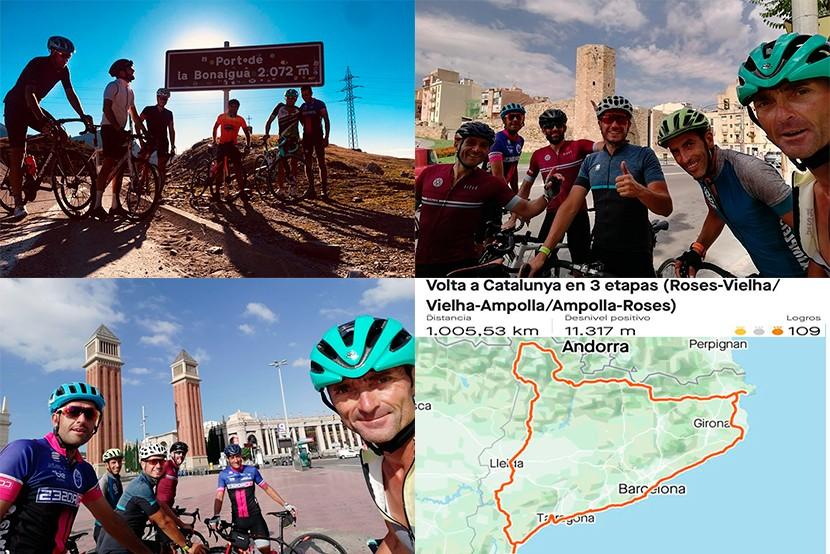 Volta a Catalunya en 3 etapes