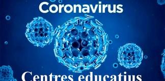 Coronavirus als centres educatius