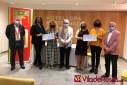 Els Anysetiers tornen a fer una donació a la Fundació Roses Contra el Càncer i a l'Associació Tramuntanets