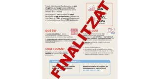 Departament de Treball, Afers Socials i Famílies
