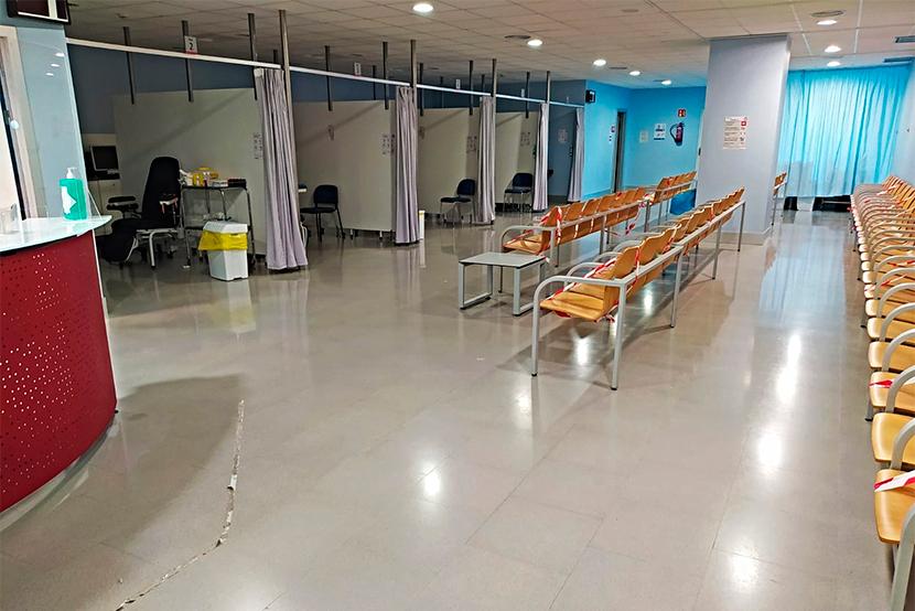 Sala d'extraccions de l'Hospital Figueres