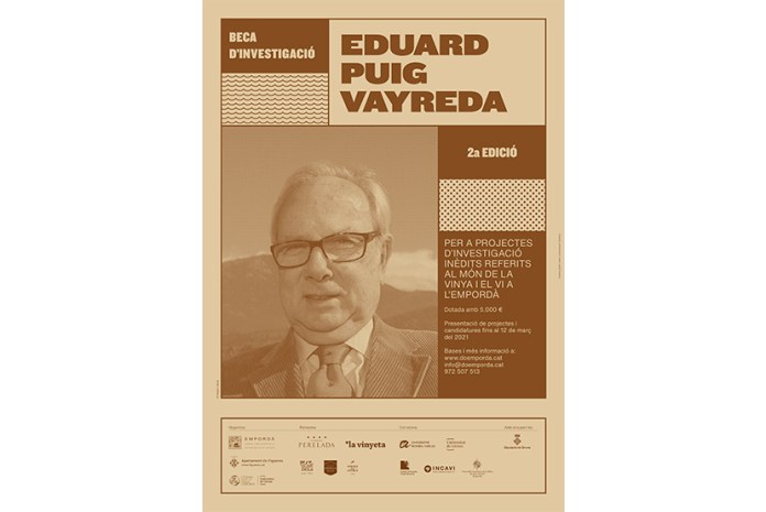 Segona beca 'Eduard Puig Vayreda'