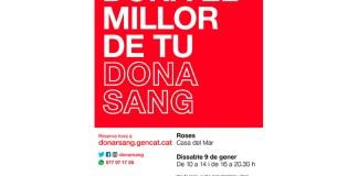 Donació de sang a Roses