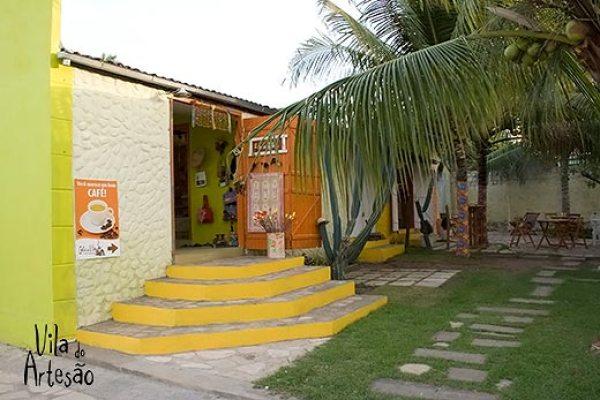 Loja e café no litoral sul, em Jacumã