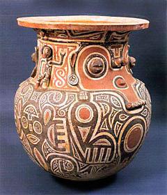 Pote usado como urna funerária