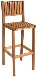 Cadeira alta para bar Ibiza da Butzke