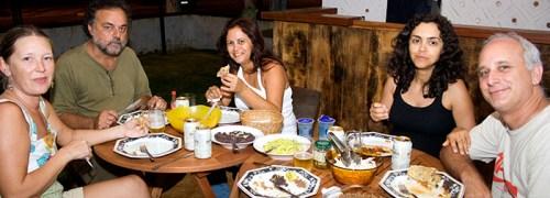 Essa comida mexicana estava uma delícia !!!!