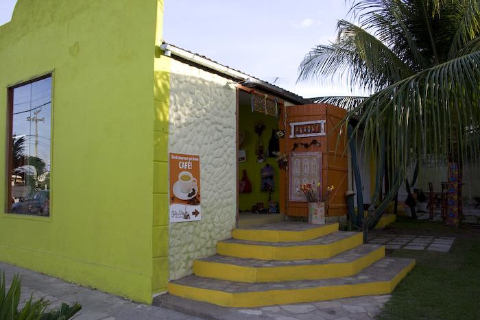 Essa é a loja da Vila do Artesão onde o Café da Vila é anexo
