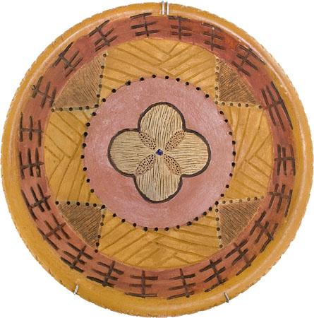 Prato em cerâmica de Fábio Smith