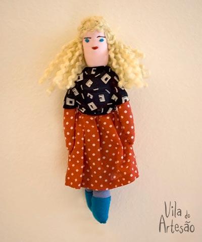 Boneca de pano, tradicional brinquedo popular nordestino
