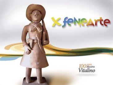 X Fenearte homenageia Mestre Vitalino