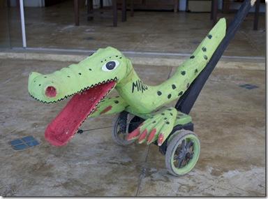 Jacaré do Miro, artesão de brinquedos populares