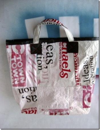 Bolsas de praia de sacolas plásticas