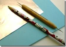 Esses são os instrumentos para o desenho