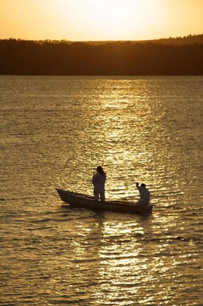 Por do sol no Jacaré ao som de Ravel
