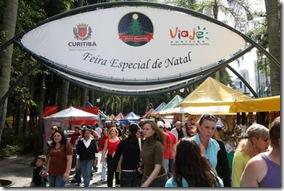 Feira especial de Natal em Curitiba