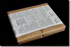 Recicle jornais e revistas usadas